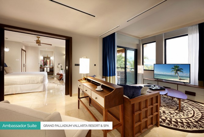 Ambassador Suite Grand Palladium Vallarta