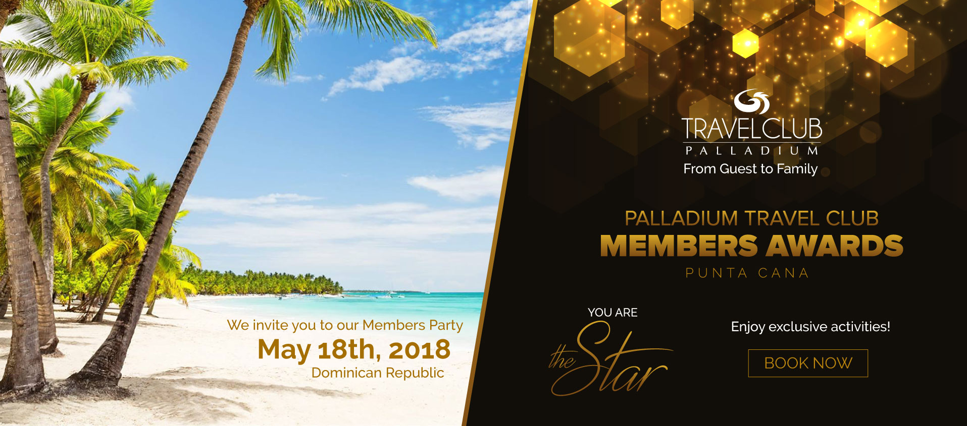 Palladium Travel Club Members Awards